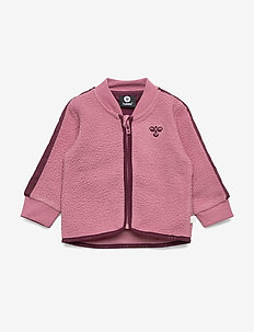 hmlJAMIE ZIP JACKET - polar - heather rose