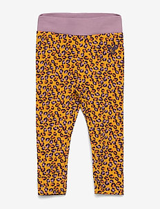 hmlVAIANA TIGHTS - leggings - golden rod