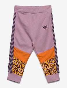hmlVERONICA PANTS - spodnie dresowe - mauve shadow