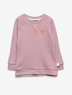 hmlGAEL SWEATSHIRT - sweatshirts - mauve shadow