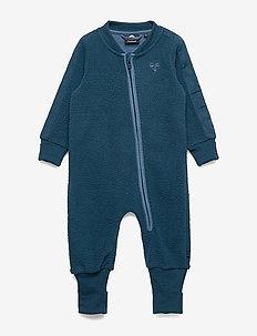 hmlJAMIE SUIT - fleecetøj - majolica blue