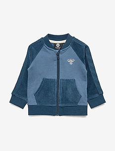 hmlTAMATOA ZIP JACKET - sweatshirts - majolica blue