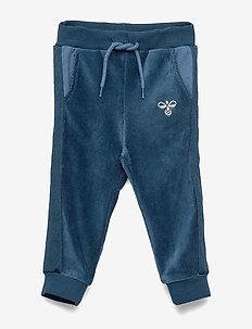 hmlTAMATOA PANTS - sweatpants - majolica blue