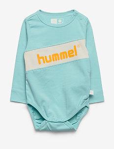 hmlCLEMENT BODY L/S - manches longues - angel blue