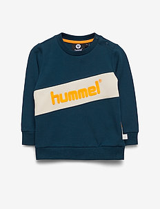 hmlCLEMENT SWEAT - MAJOLICA BLUE