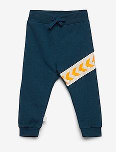hmlCLEMENT PANTS - spodnie dresowe - majolica blue