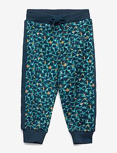 hmlERNESTO PANTS - jogginghosen - majolica blue