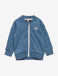 hmlOLE ZIP JACKET - sweatshirts - stellar