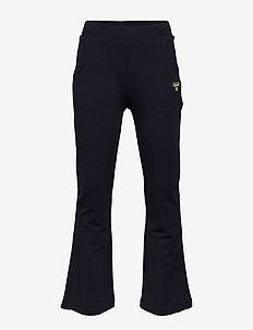 hmlEMMA PANTS - spodnie dresowe - blue nights