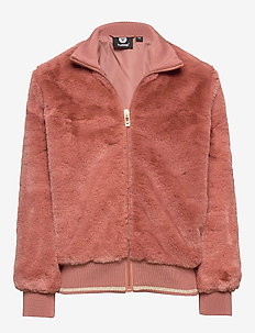 hmlBIANCA ZIP JACKET - CEDAR WOOD