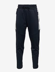 hmlALEX PANTS - spodnie dresowe - blue nights