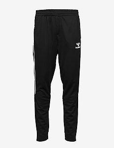 hmlARNE TAPERED PANTS - bukser - black