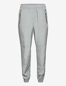 hmlMAGNUS LOOSE PANTS - spodnie treningowe - quarry