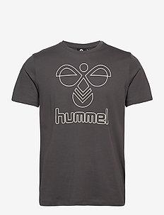 hmlPETER T-SHIRT S/S - t-shirts - magnet