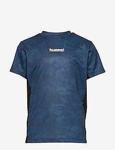 hmlRUSSEL T-SHIRT S/S - STELLAR