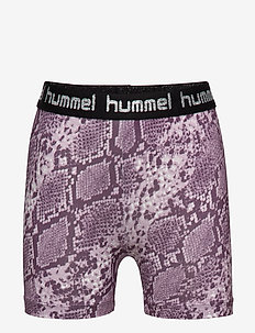 hmlMIMMI TIGHT SHORTS - MAUVE SHADOW