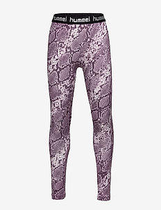 hmlMIMMI TIGHTS - MAUVE SHADOW