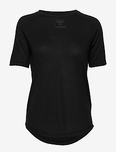 hmlVANJA T-SHIRT S/S - t-shirty - black