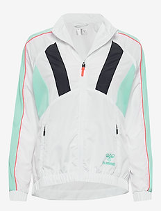 hmlTROPHY ZIP JACKET - sportjackor - white