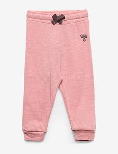 hmlDALLAS PANTS - sweatpants - ash rose