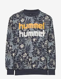 hmlEDWIN CREWNECK - sweatshirts - lead