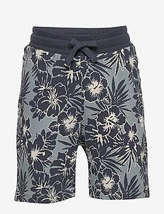 hmlEDWIN SHORTS - shorts - lead