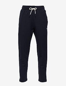 hmlTOBY PANTS - spodnie dresowe - blue nights