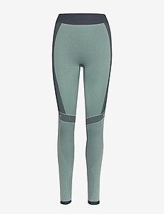 hmlASTRID SEAMLESS TIGHTS - collants d'entraînement - ice green