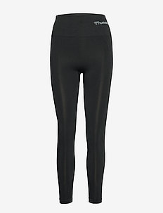 hmlTIF HIGH WAIST SEAMLESS TIGHTS - running & training tights - black