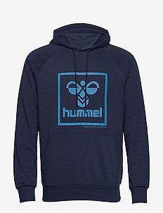 hmlISAM HOODIE - hoodies - black iris