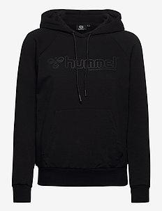 hmlNONI HOODIE - hoodies - black