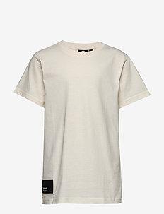 hmlPETER T-SHIRT S/S - logo - whisper white