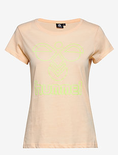 hmlSENGA T-SHIRT S/S - t-shirty - cloud pink