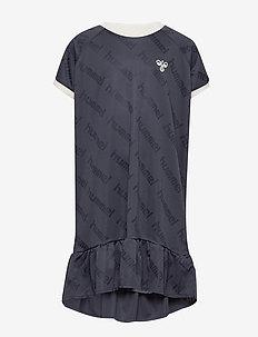 hmlSARA DRESS S/S - BLUE NIGHTS