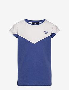 hmlCIETE T-SHIRT S/S - kurzärmelige - amparo blue