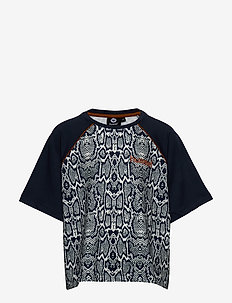 hmlSNAKE T-SHIRT S/S - À manches courtes - blue nights