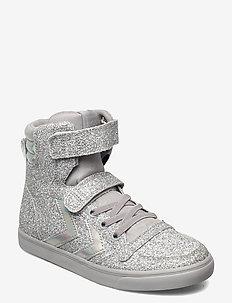 SLIMMER STADIL GLITTER JR - høje sneakers - silver