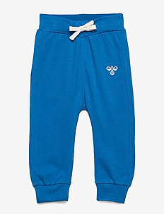 hmlJUNO PANTS - sweatpants - directoire blue