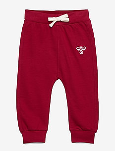 hmlJUNO PANTS - sweatpants - rio red