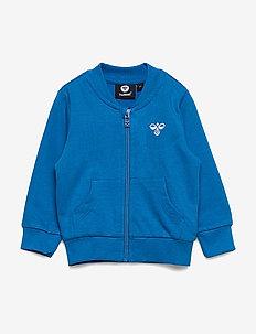 hmlJUNO ZIP JACKET - bluzy - directoire blue