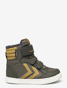 STADIL SUPER POLY BOOT MID JR - high-top sneakers - olive night