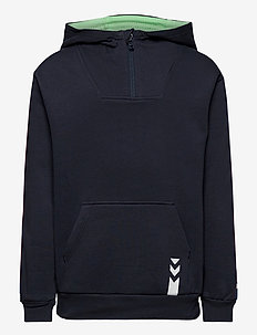 hmlJACOB HOODIE - hoodies - blue nights