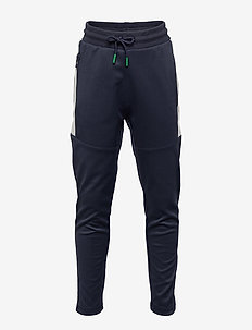 hmlNOAH PANTS - sweatpants - blue nights