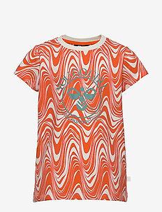 hmlOLIVIA T-SHIRT S/S - short-sleeved - carrot