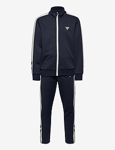 hmlMOBA TRACKSUIT - tracksuits - blue nights