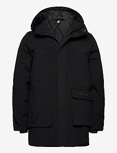 hmlEZRA COAT - parki - black