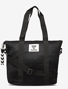 hmlPOP SHOULDER BAG - małe torby - black