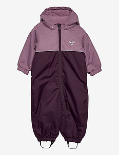 hmlSNOOPY SNOWSUIT - schneeanzug - blackberry wine