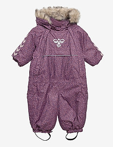 hmlMOON SNOWSUIT - snowsuit - blackberry wine