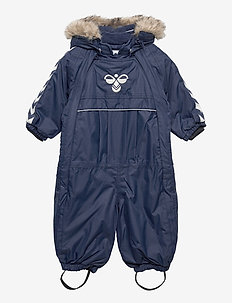 hmlMOON SNOWSUIT - snowsuit - black iris